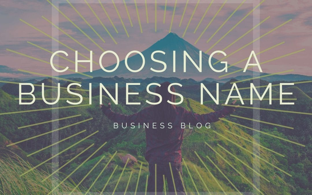 4 Tips for Choosing Effective Business Names