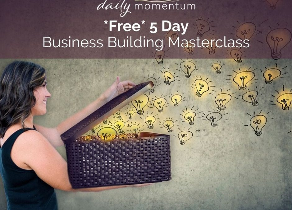 Free 5 Day Business Building Masterclass