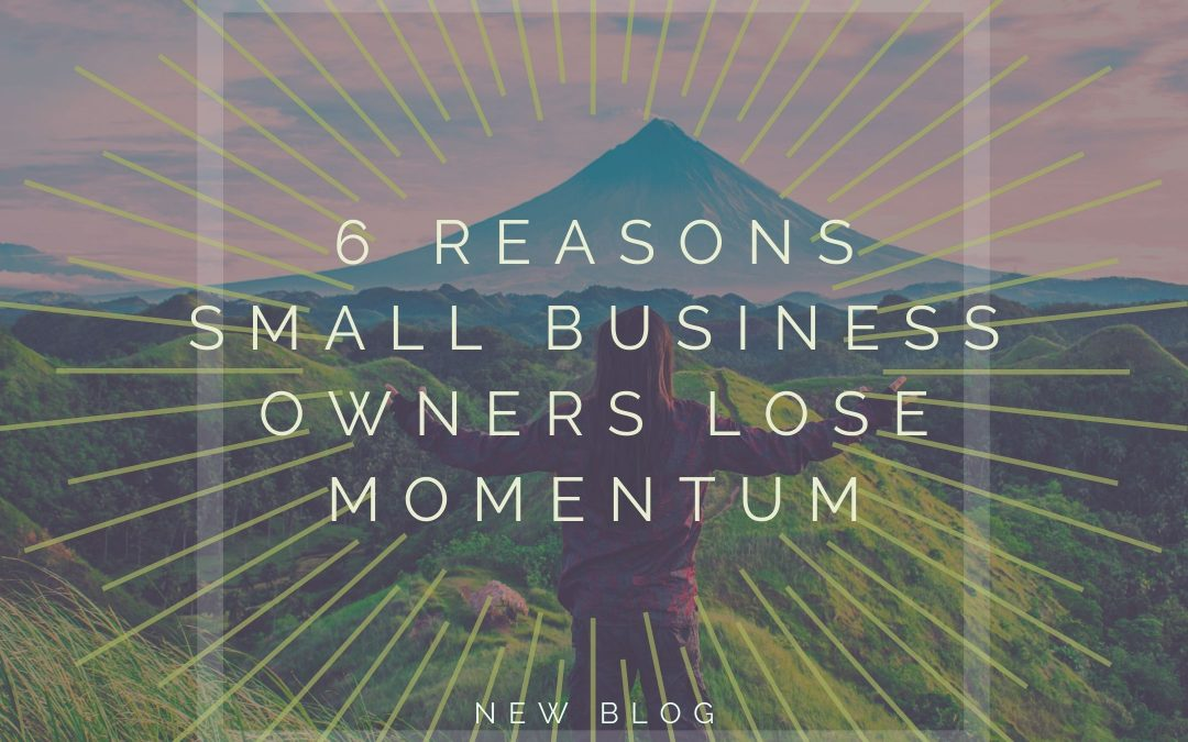 Top 6 Reasons Small Business Owners Lose Momentum